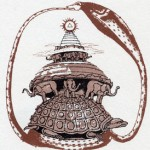 仏教宇宙観の須彌山説