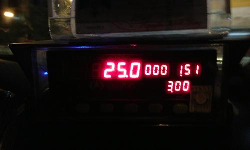 ベトナムのタクシーメーターは桁がズレてる!