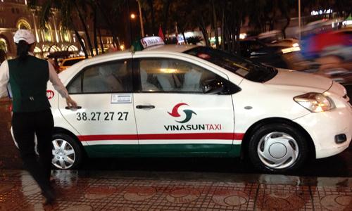 ベトナムタクシーのビナサン