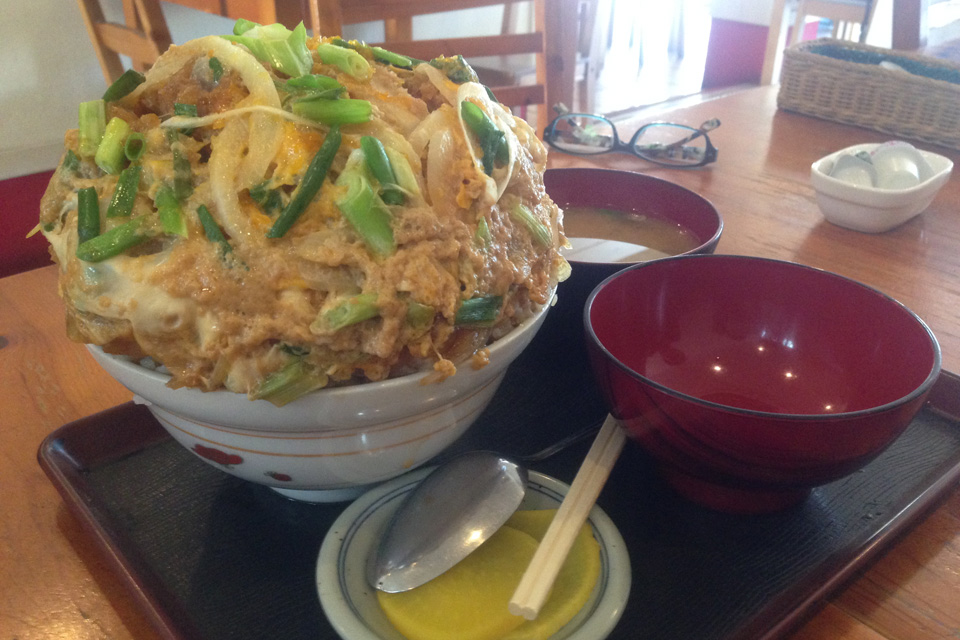 甲子園名物のカツ丼の大力食堂の「ダイリキ」